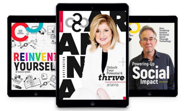 January 2017, Issue #7 with Arianna Huffington