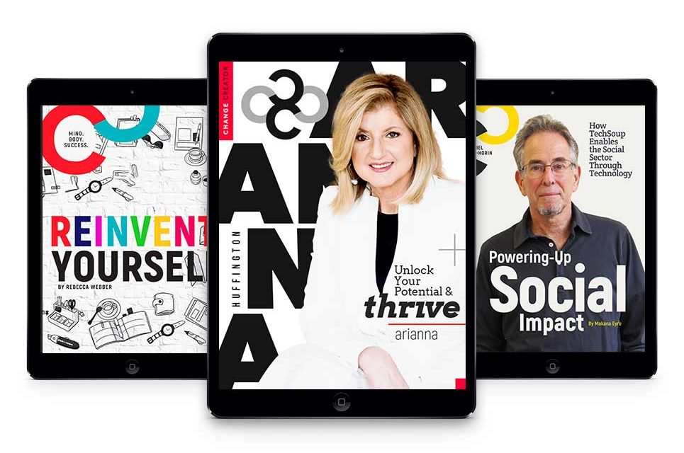 January 2017, Issue #7 with Arianna Huffington
