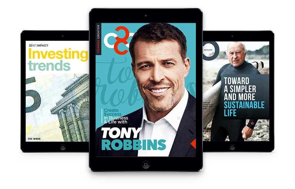 March 2017, Issue #8 with Tony Robbins