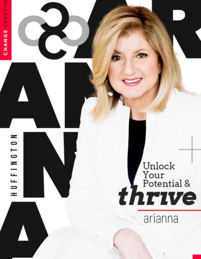 change craetor magazine arianna huffington thrive