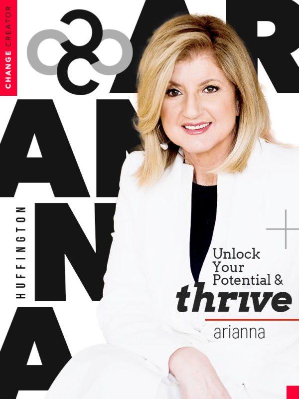 change craetor magazine arianna huffington thrive