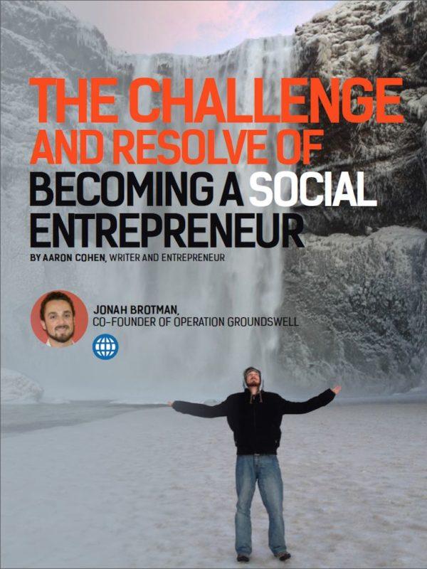 change creator magazine operation groundswell