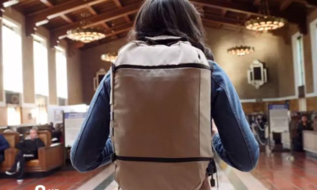 How This Backpack is Tackling Plastic Waste and Looking Super Fly Too!