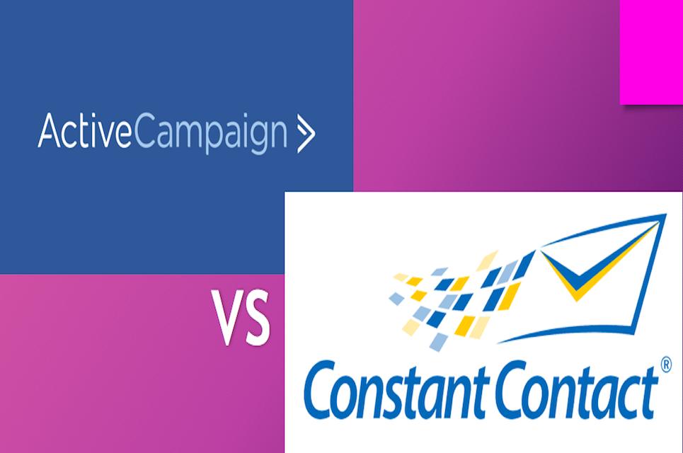 ActiveCampaign vs Constant Contact: Which is Best? [2018 Comparison]