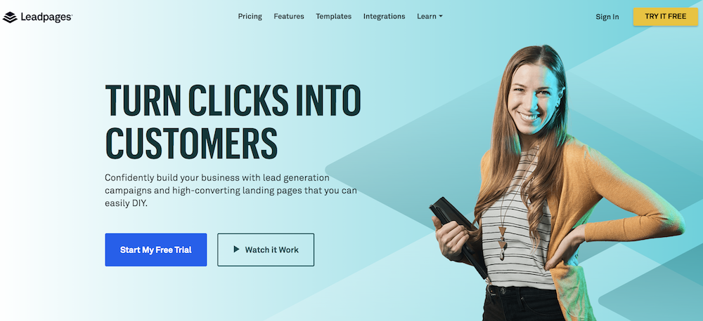 Turn Clicks Into Customers with Leadpages