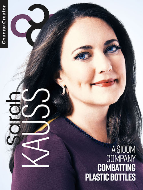 Sarah Kauss, Change Creator App