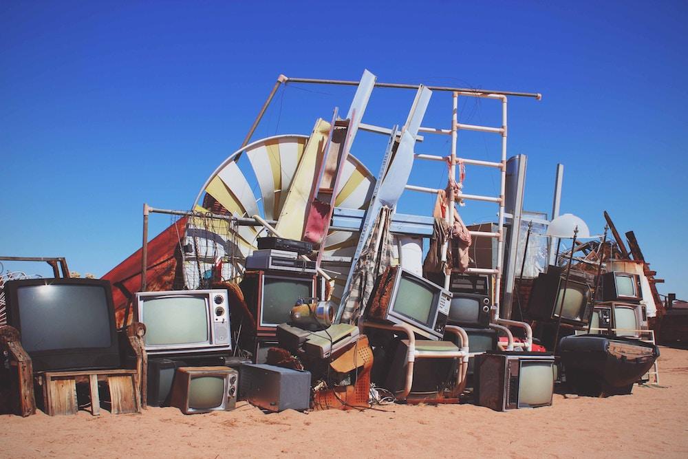 electronics landfill